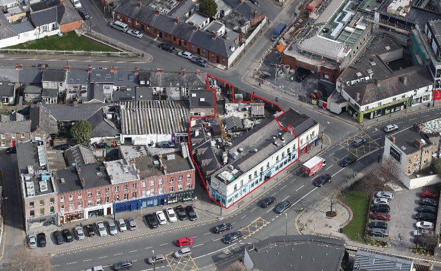 Kiely's of Donnybrook Aerial Photo