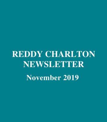 Reddy Charlton Newsletter November 2019