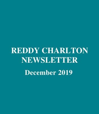 Reddy Charlton Newsletter December 2019